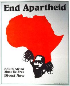 End Apartheid, south Africa 1985