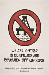 We Are Opposed to Offshore Drilling