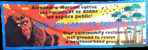 gorilla park banner