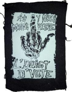 Doigt d'vote Coup d'griffe